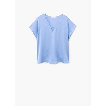 Tシャツ .-- CHEMA (パステルブルー)