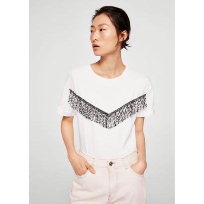 Tシャツ .-- FRINGE (ホワイト)
