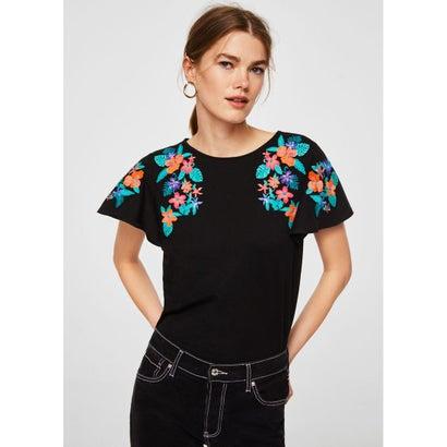 Tシャツ .-- CARLAS (ブラック)