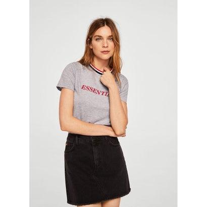 Tシャツ .-- CESTERO (ミディアムグレー)