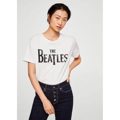 Tシャツ .-- BEATLES (ホワイト)