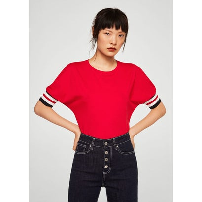 Tシャツ .-- RIBIN2 (レッド)