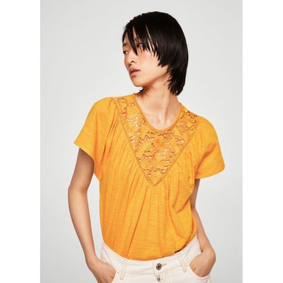 Tシャツ .-- ALEX (ミディアムイエロー)