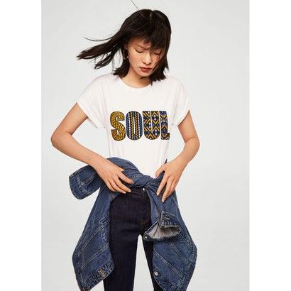 Tシャツ .-- SOUL (ナチュラルホワイト)