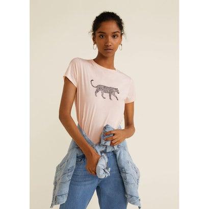 Tシャツ .-- ILUSTRA3 (ピンク)