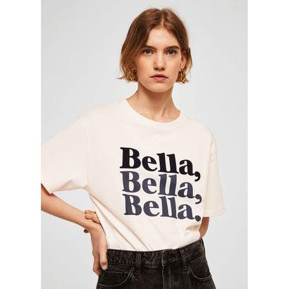 Tシャツ .-- BELLA (ホワイト)