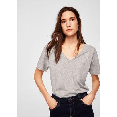 Tシャツ .-- CHALA (ミディアムグレー)