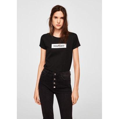 Tシャツ .-- MNGLOG (ブラック)