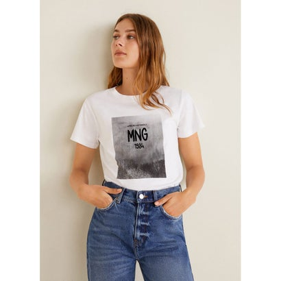 Tシャツ .-- TEELOGO (ナチュラルホワイト)