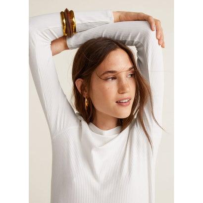 Tシャツ .-- BENILAR (ナチュラルホワイト)