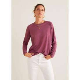 Tシャツ .-- OCASO3 (ダークパープル)