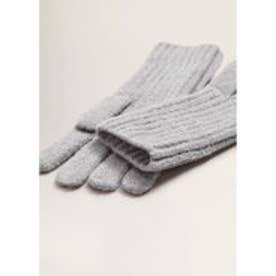 手袋 .-- FUN (パステルグレー)