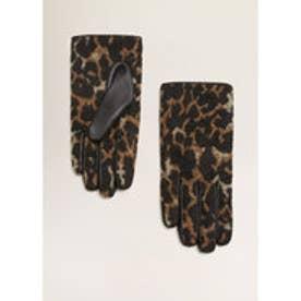 手袋 .-- LEOPARDI (ブラック)