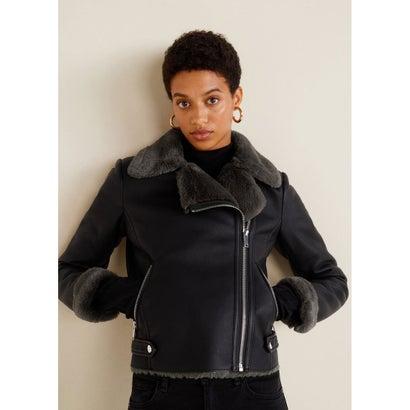 ライダースジャケット .-- CADI (ブラック)