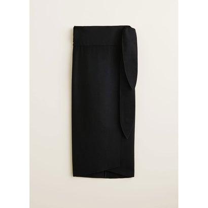 スカート .-- LALA (ブラック)