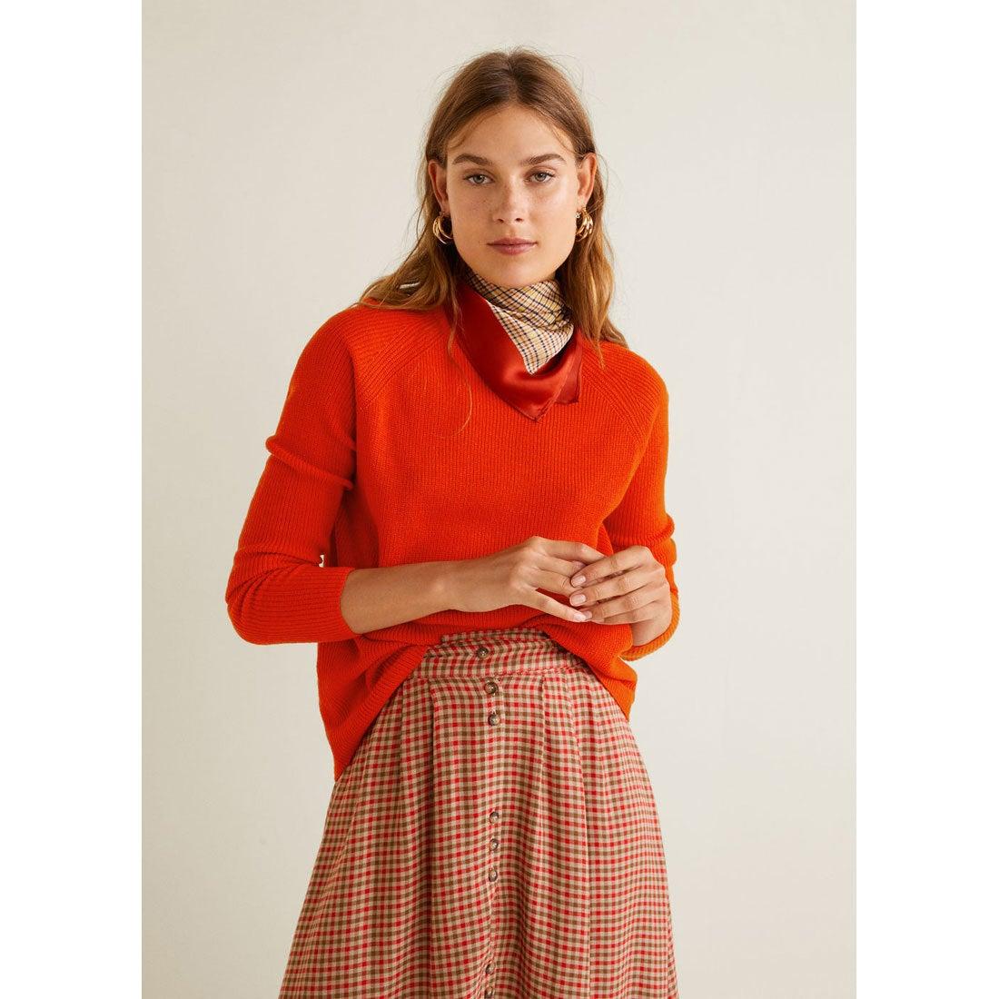 セーター - CROSS (オレンジ)