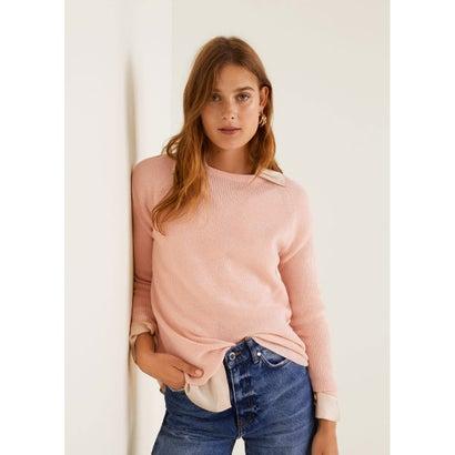 セーター .-- CROSS (ピンク)