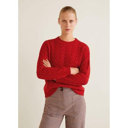 セーター .-- LILIANA (レッド)