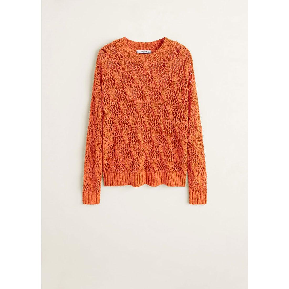 セーター - PEACH (オレンジ)