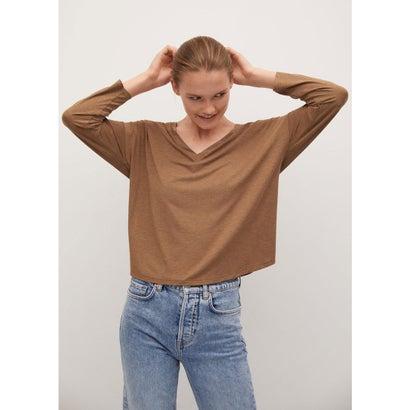 Tシャツ .-- PIKEA (ダークブラウン)