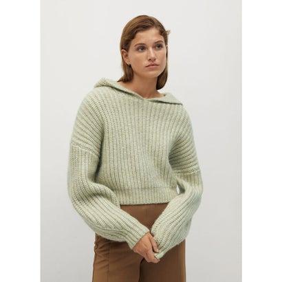 セーター .-- CAPUCHINO (グリーン)
