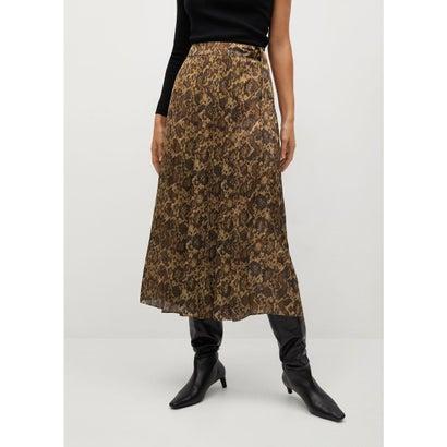 ロングスカート .-- MISS (ブラウン)