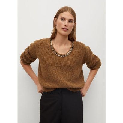 セーター .-- CADENETA (ブラウン)