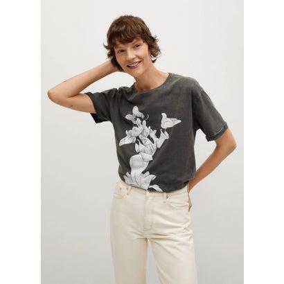 Tシャツ .-- CARAVELE-H (チャコール)