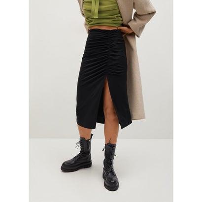 ロングスカート .-- VALE (ブラック)