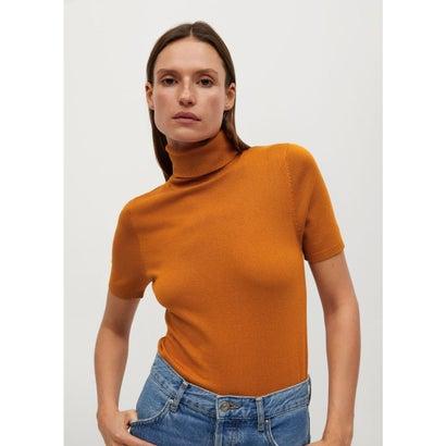 セーター .-- ALMAECO (オレンジ)