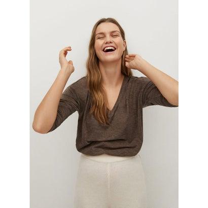 Tシャツ .-- PICEASY8 (ブラウン)
