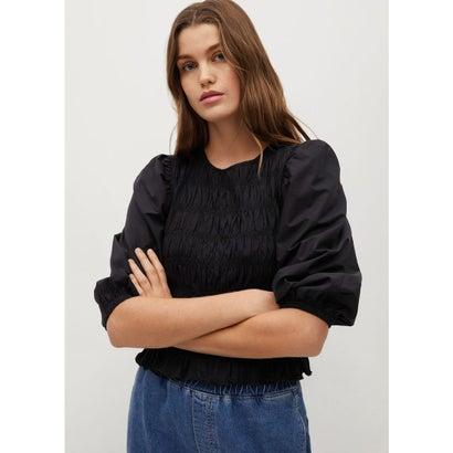 Tシャツ .-- OLIVIA (ブラック)