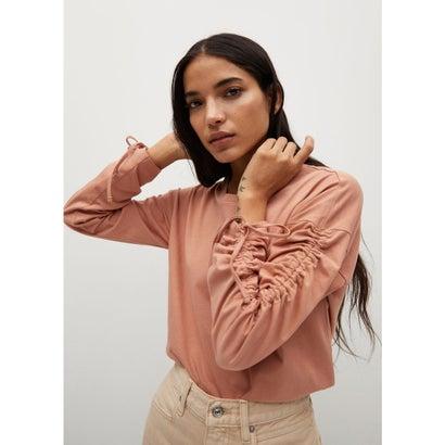 Tシャツ .-- CARLOTA (ミディアムブラウン)