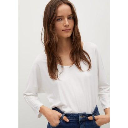 Tシャツ .-- CAMILA (ナチュラルホワイト)