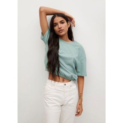 Tシャツ .-- VILA (グリーン)