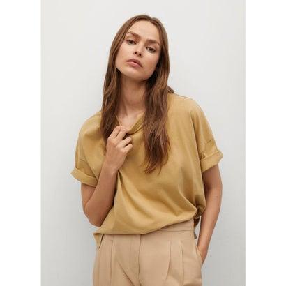 Tシャツ .-- MIGI (ミディアムブラウン)