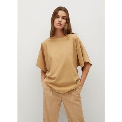 Tシャツ .-- LUPE (ミディアムブラウン)