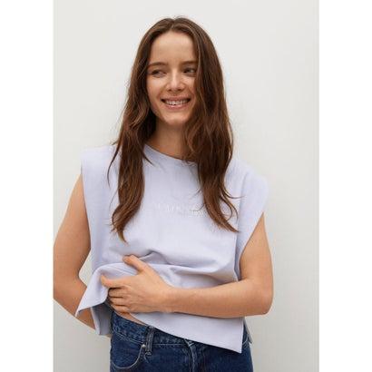 Tシャツ .-- PSTSHA (パステルパープル)