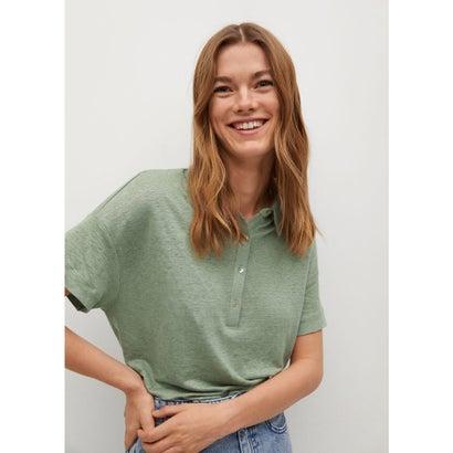 Tシャツ .-- LIPO (ミディアムグリーン)