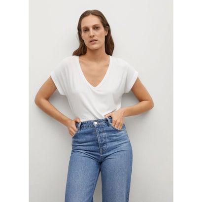 Tシャツ .-- VISPI (ホワイト)