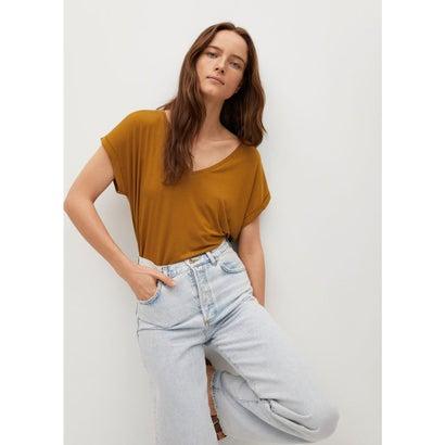 Tシャツ .-- VISPI (ミディアムブラウン)