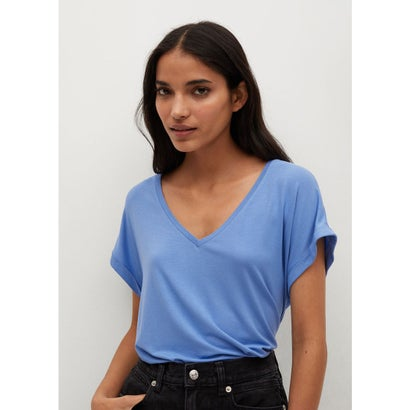 Tシャツ .-- VISPI (ミディアムブルー)