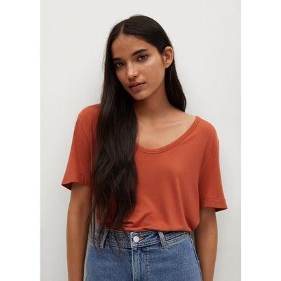 Tシャツ .-- VISCA (ミディアムオレンジ)