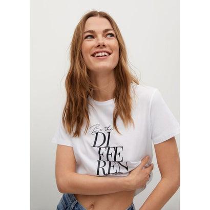 Tシャツ .-- PSTDIF (ホワイト)