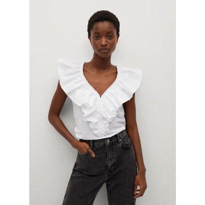 Tシャツ .-- JIMENA (ホワイト)