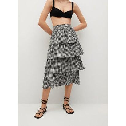 ロングスカート .-- VIKI (ブラック)