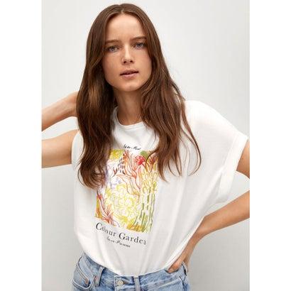 Tシャツ .-- PSTFOLD (ナチュラルホワイト)