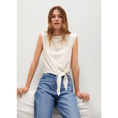 Tシャツ .-- PSTKNOT (ホワイト)
