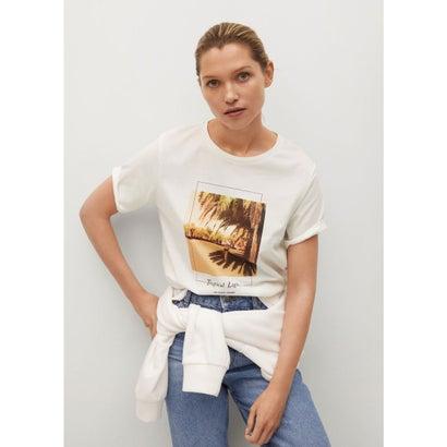 Tシャツ .-- PSTROP (ライトベージュ)