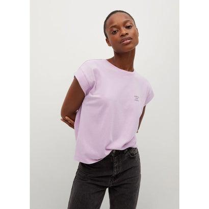 Tシャツ .-- PSTLAV (パステルパープル)